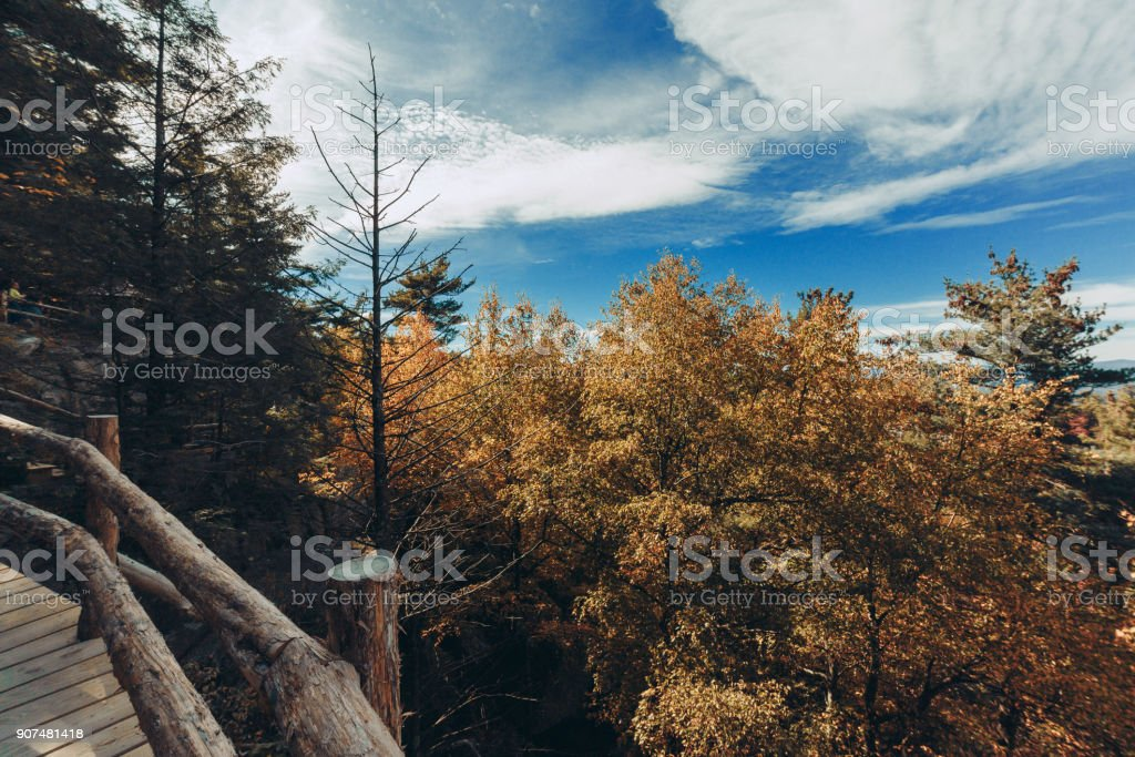 Mohonk Montain House stock photo
