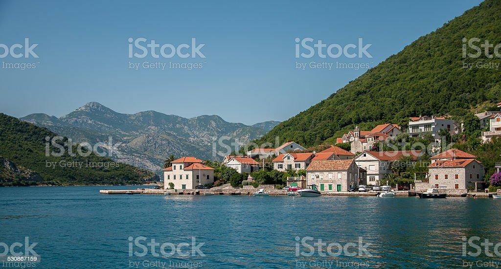 Mointenegro Coast stock photo
