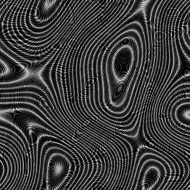 Moire abstract seamless generated hires texture stock photo