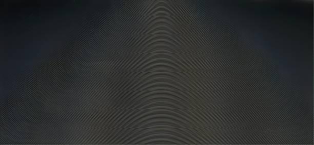 textura do teste padrão do moiré - foto de acervo