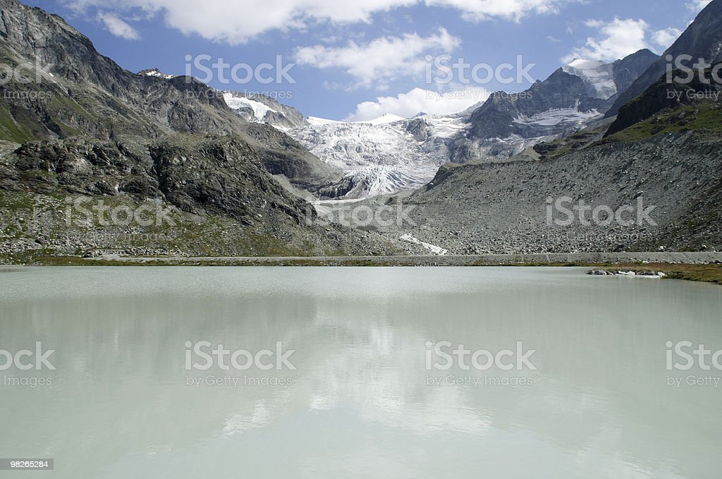 Moiry Gletscher royalty-free stock photo