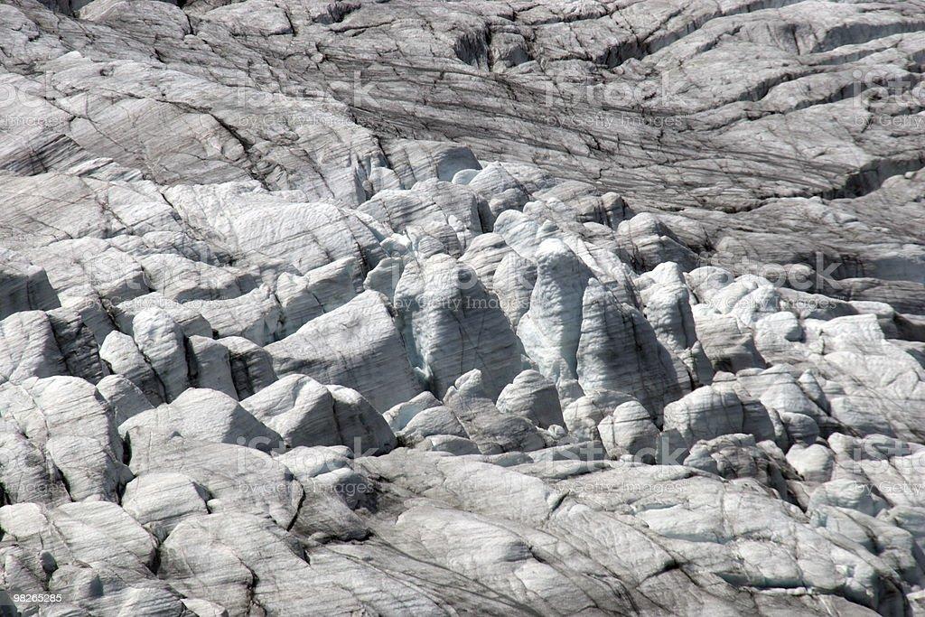 Moiry Gletscher royalty-free 스톡 사진