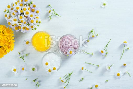 istock Moisturizer and flowers 667283876