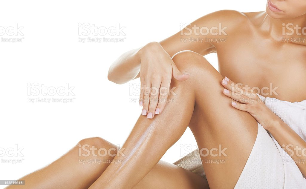 Moisturizer cream stock photo