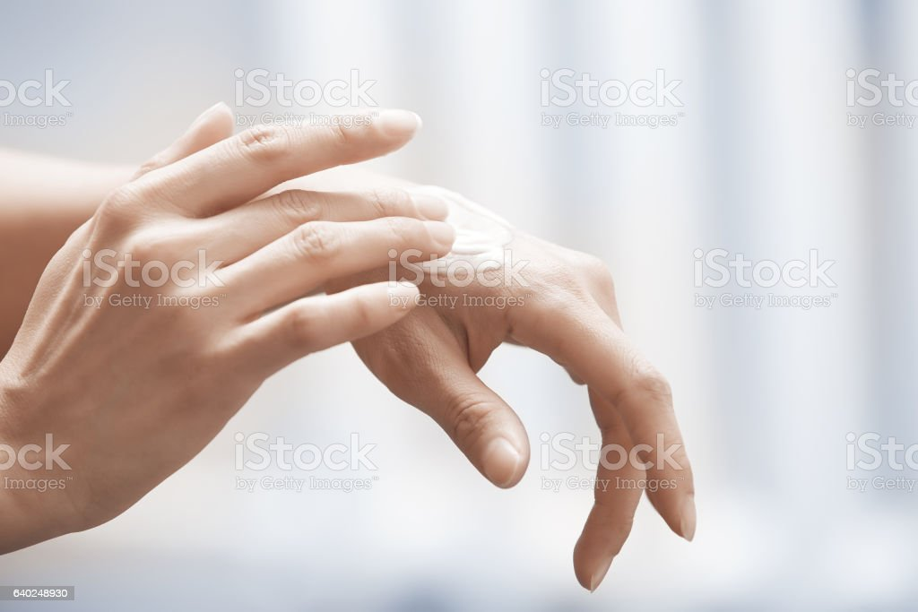 Moisturizing cream stock photo