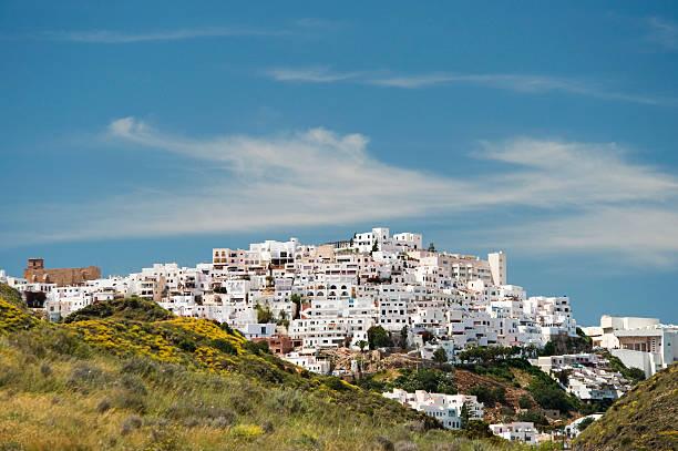 Mojacar Village, Almeria, Andalusia, Spain stock photo