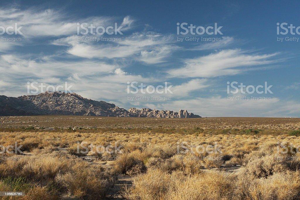 Mojave Desert, California royalty-free stock photo
