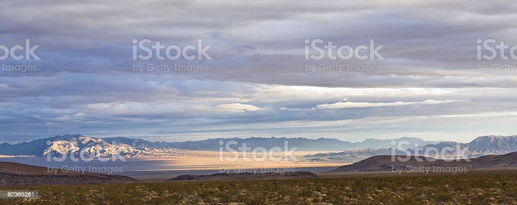 Mojave Panorama royalty-free stock photo