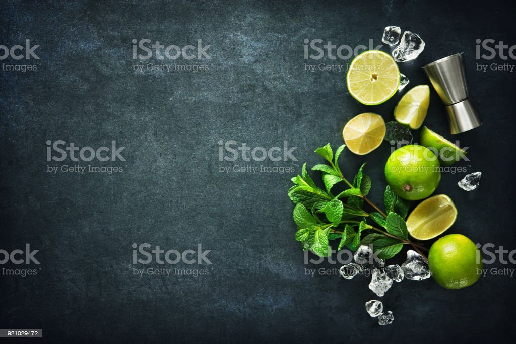 Mojito cocktail, – Foto