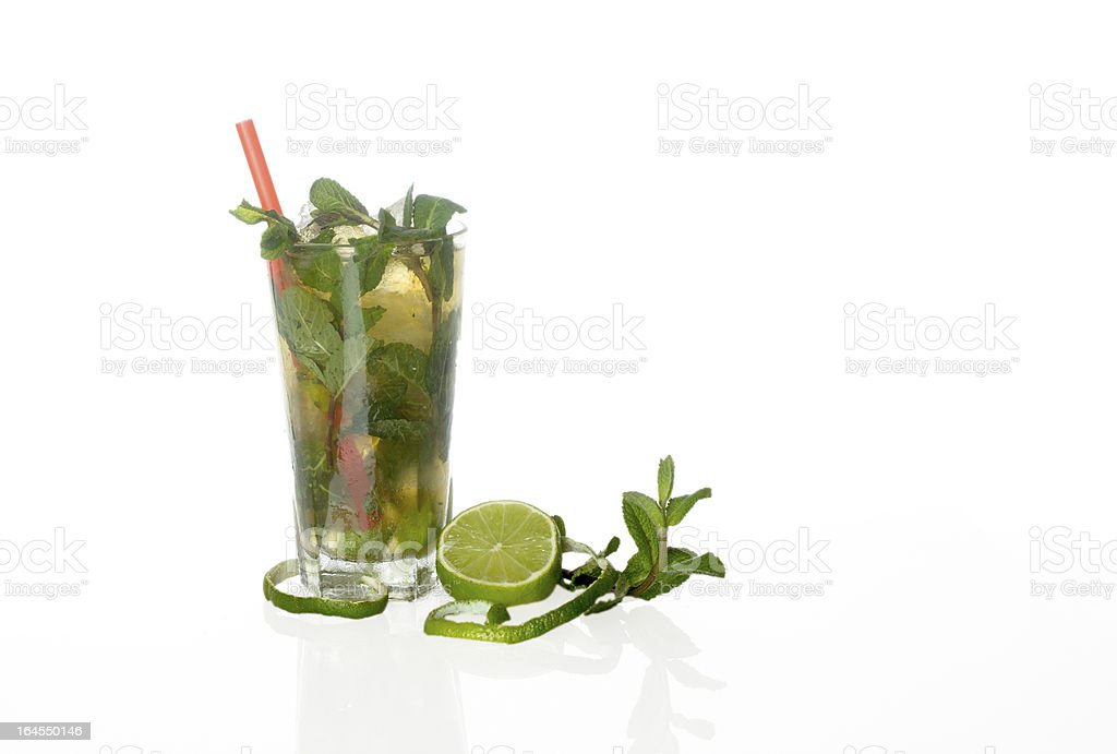 Mojito Cocktail royalty-free stock photo