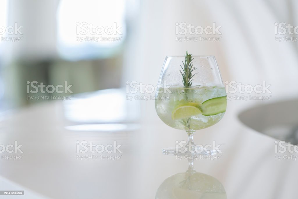 Mojito cocktail foto stock royalty-free