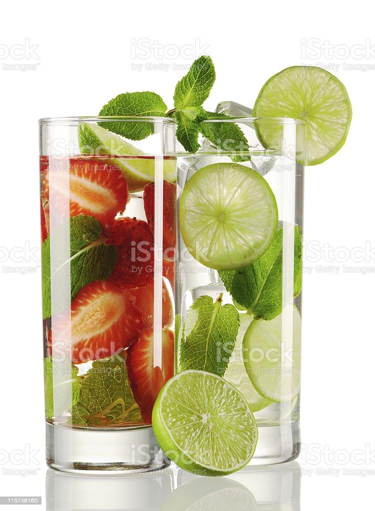 Mojito cocktails royalty-free stock photo