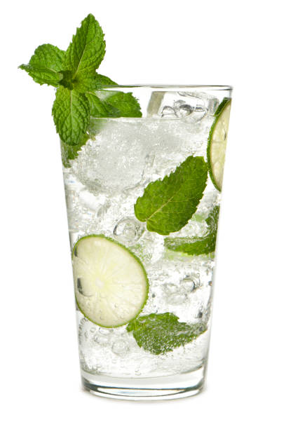 Mojito Isolated on White Background Mojito Isolated on White Background mojito stock pictures, royalty-free photos & images