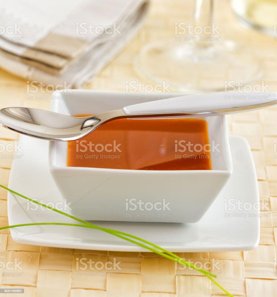 Mojo majorero, typical sauce stock photo