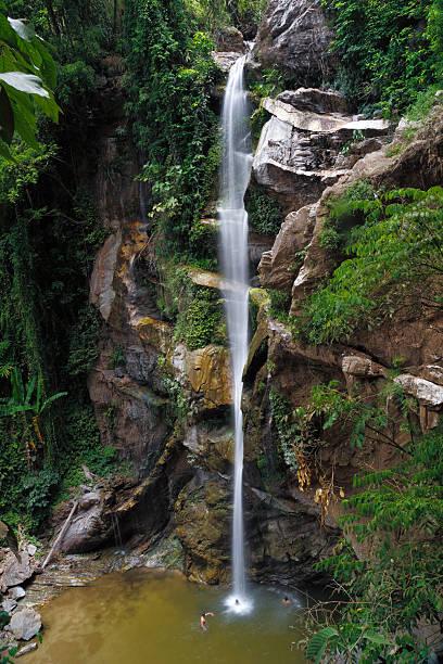 Mok Fa waterfall stock photo