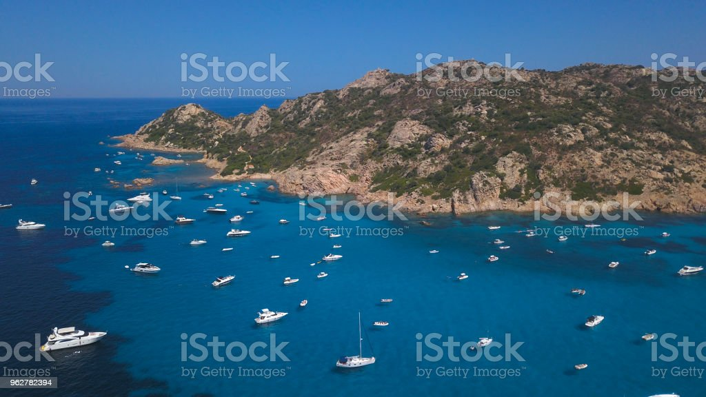 Molara Island in Sardinia - Foto stock royalty-free di Ambientazione esterna