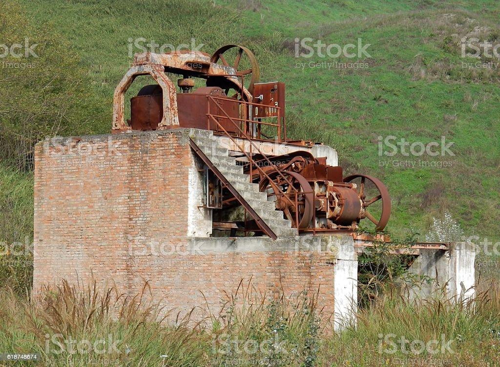 Molazza industriale stock photo