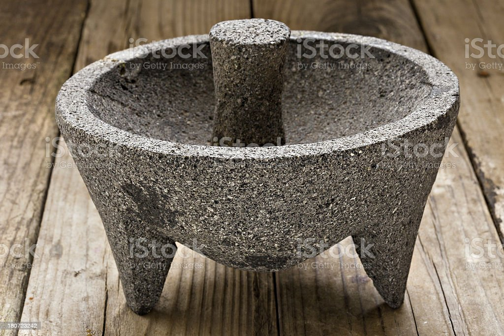 Molcajete royalty-free stock photo
