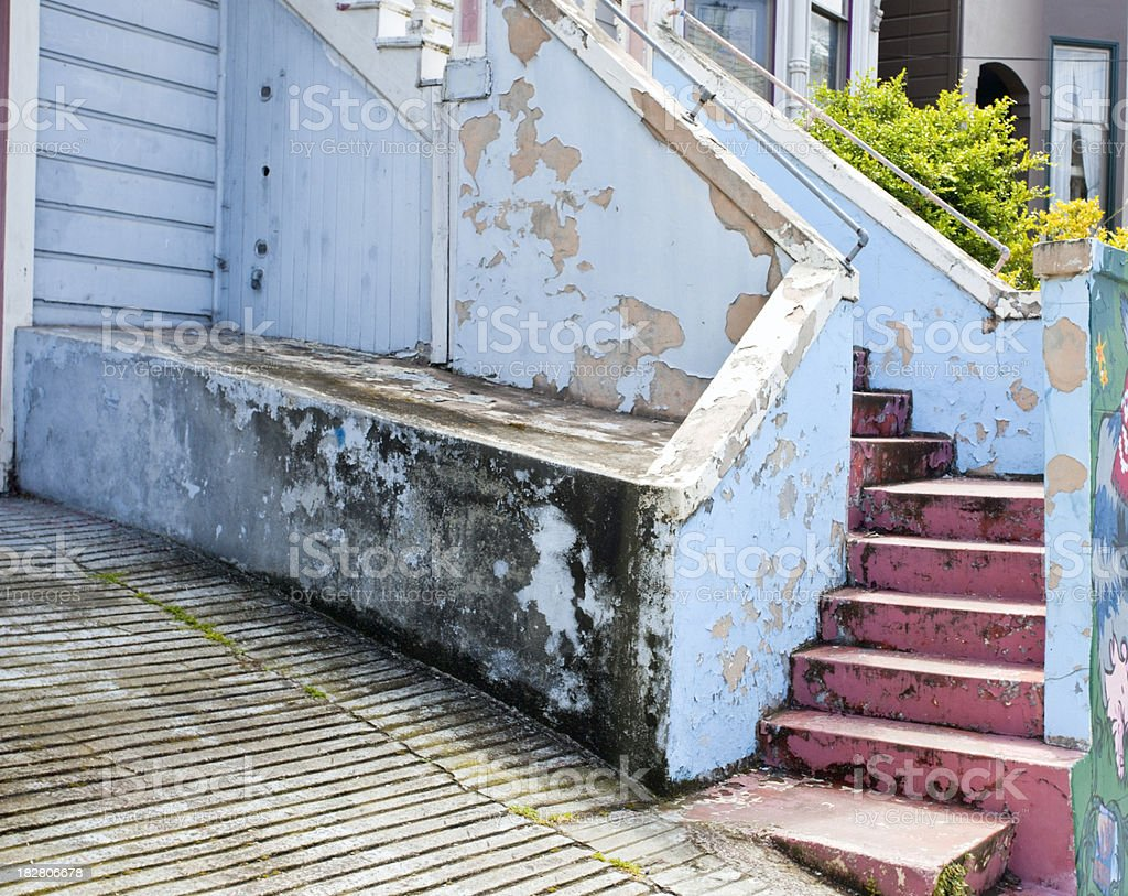 Mold and Peeling Paint royalty-free stock photo