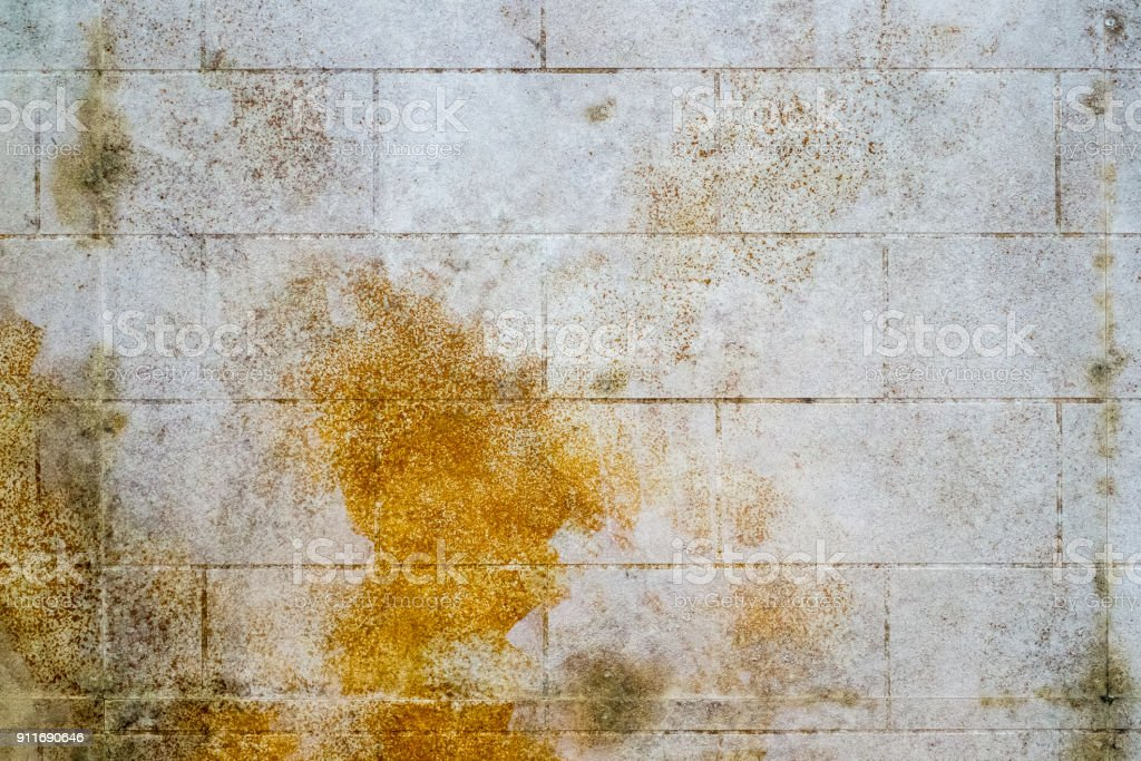 mold stained wall stock photo