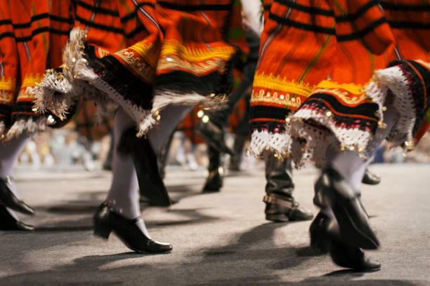 moldavian folklore ensemble - moldova stock pictures, royalty-free photos & images