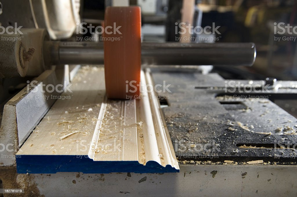 Molding cutter royalty-free stock photo