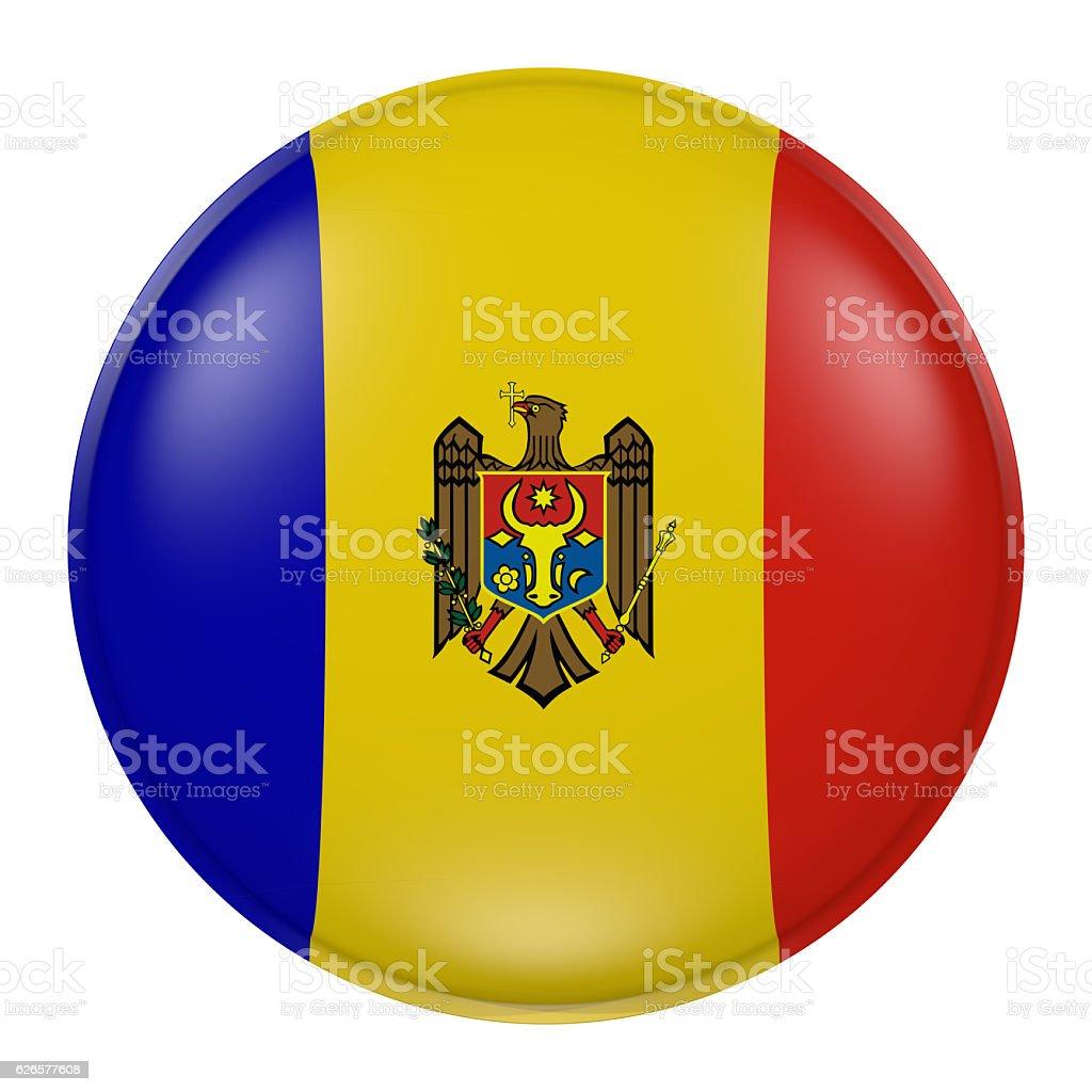 Moldova button stock photo