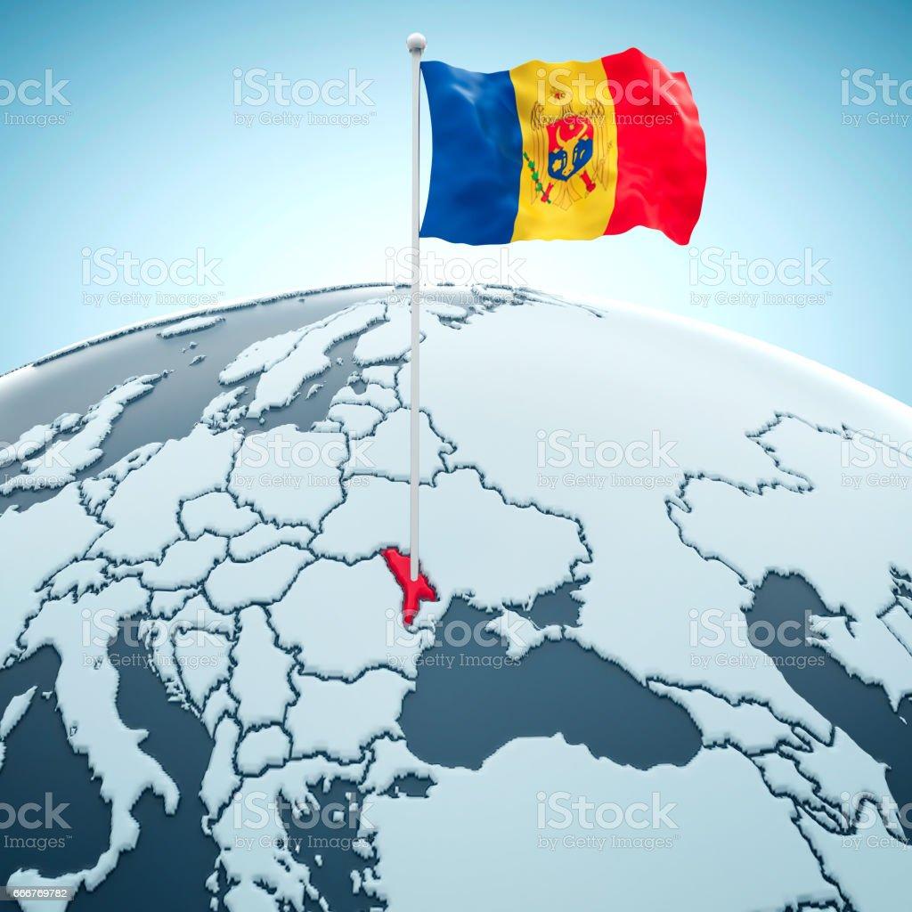 Moldova, Chisinau foto stock royalty-free