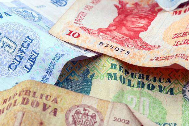moldovan lei - moldova stock pictures, royalty-free photos & images