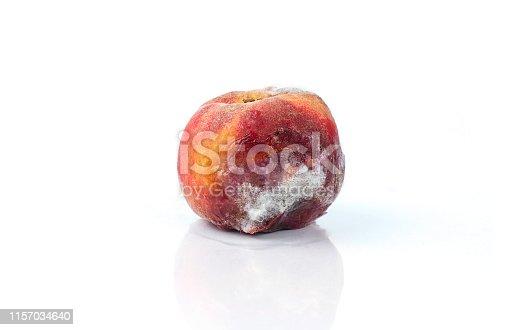 Moldy peach