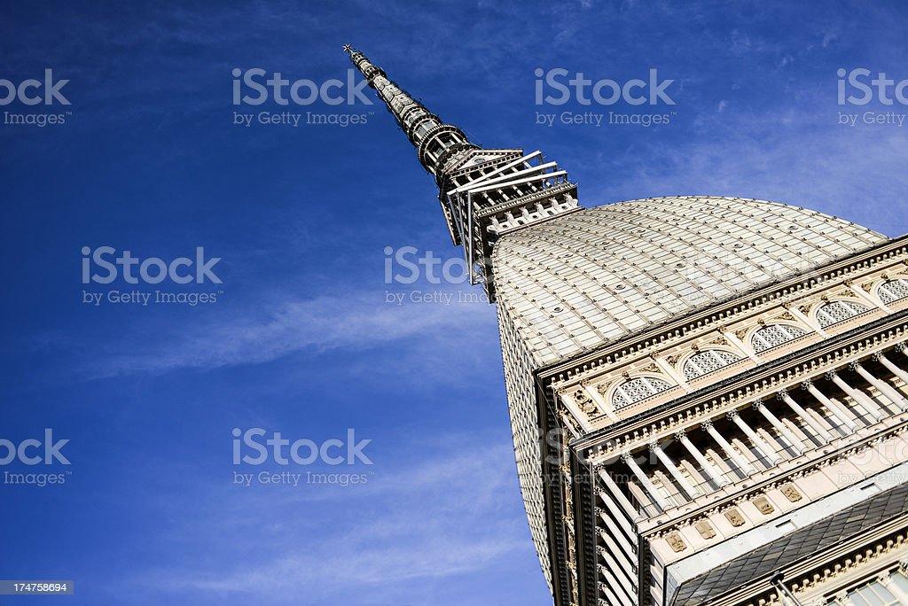 Mole Antonelliana in Turin stock photo