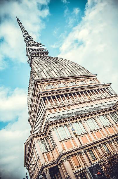 Mole Antonelliana, Turin, Italy stock photo