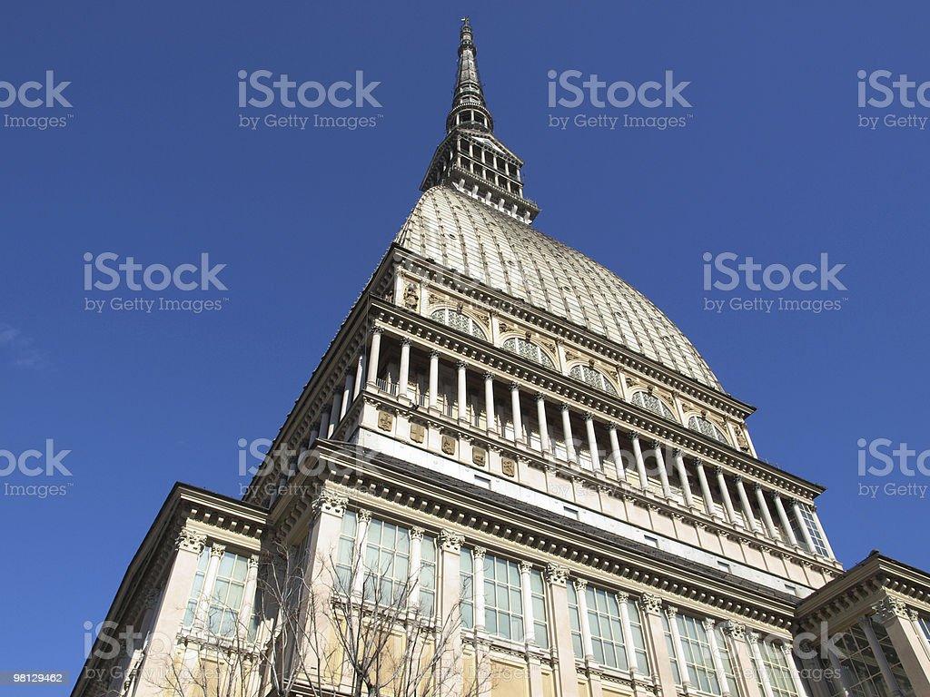 Mole Antonelliana, Turin royalty-free stock photo