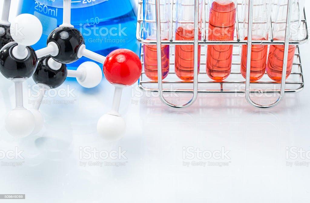 Estructura Molecular Y Colorido Líquido Foto De Stock Y Más