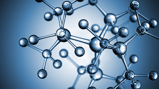 molecular structure - chemical stock photos and pictures