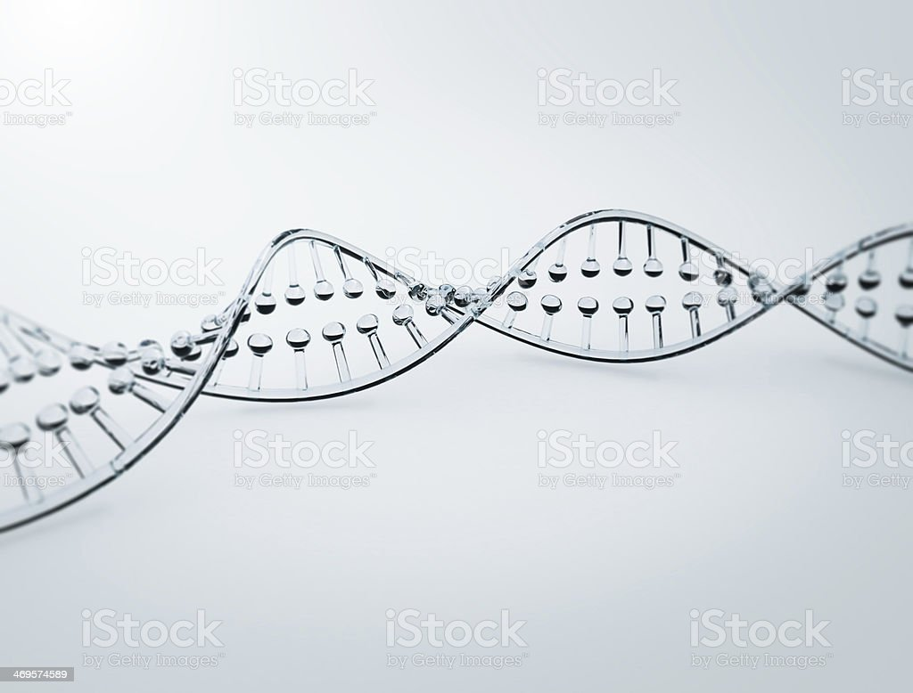 DNA Molecular Structure stock photo