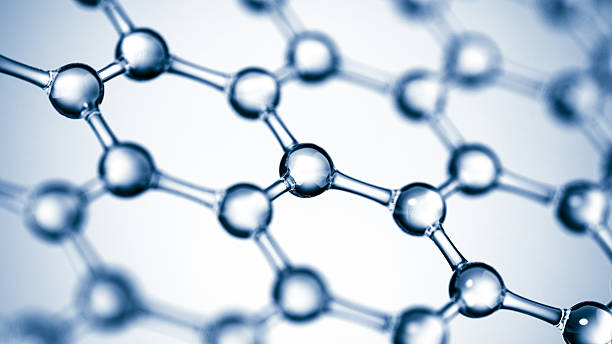 molecular structure - graphene stock photos and pictures