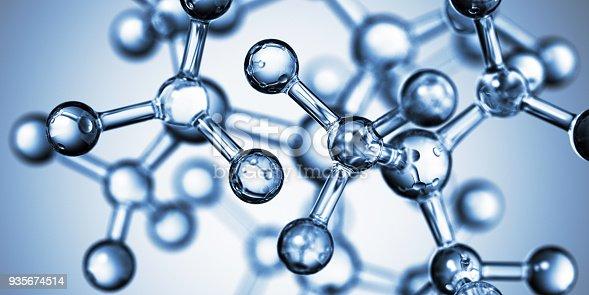 868264184 istock photo Molecular Structure 935674514