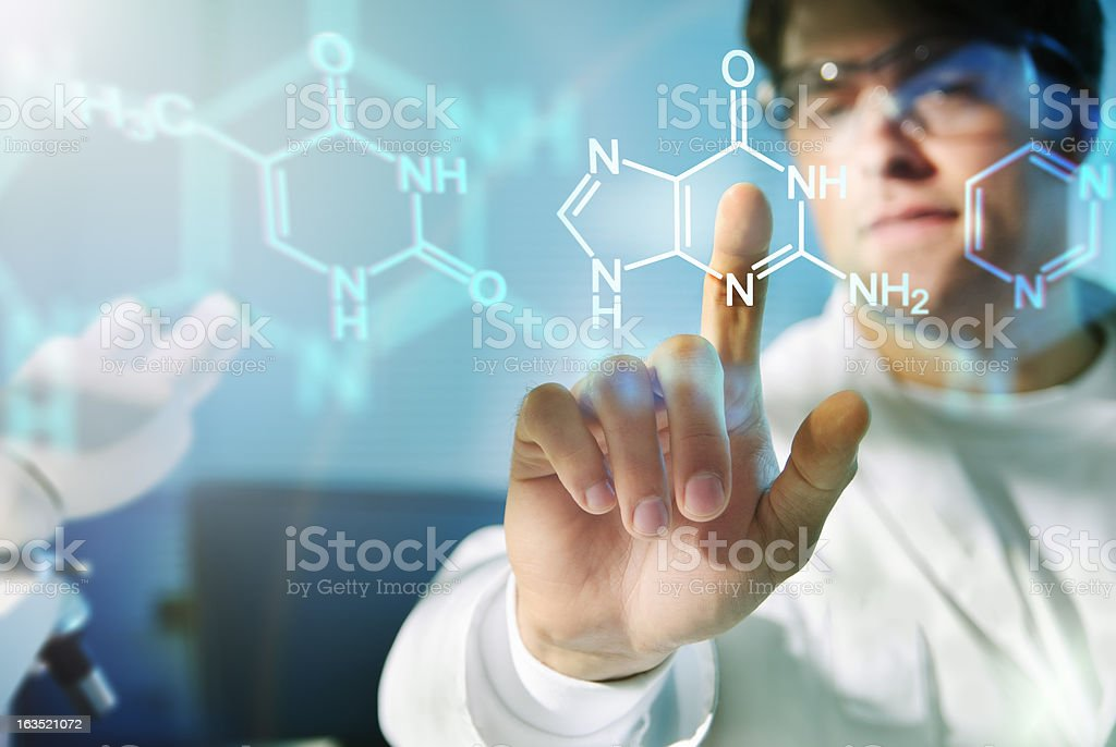 Molecular Structures stock photo