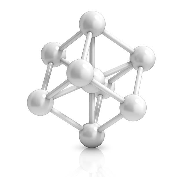 Molekül 3d-Symbol – Foto