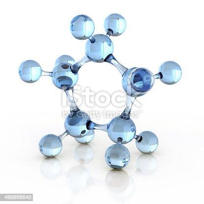 525225194 istock photo molecule 3d illustration 499888645