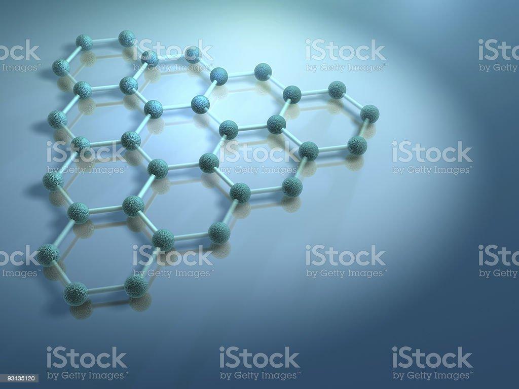Molecule 6 royalty-free stock photo