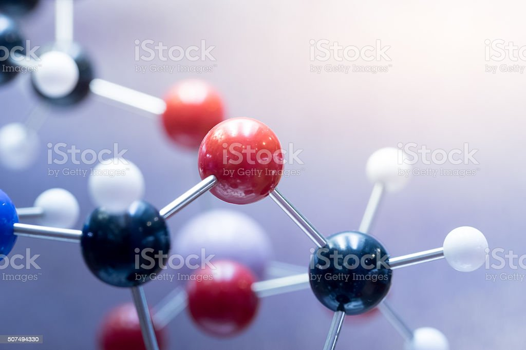DNA, Molecule, Chemistry in laboratory lab test stock photo