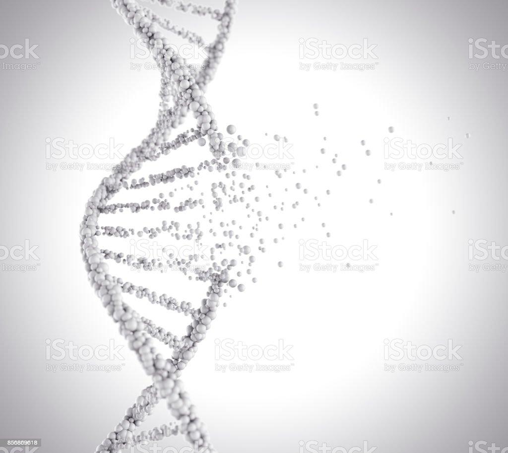 molecule or atom, Abstract atom or molecule structure stock photo