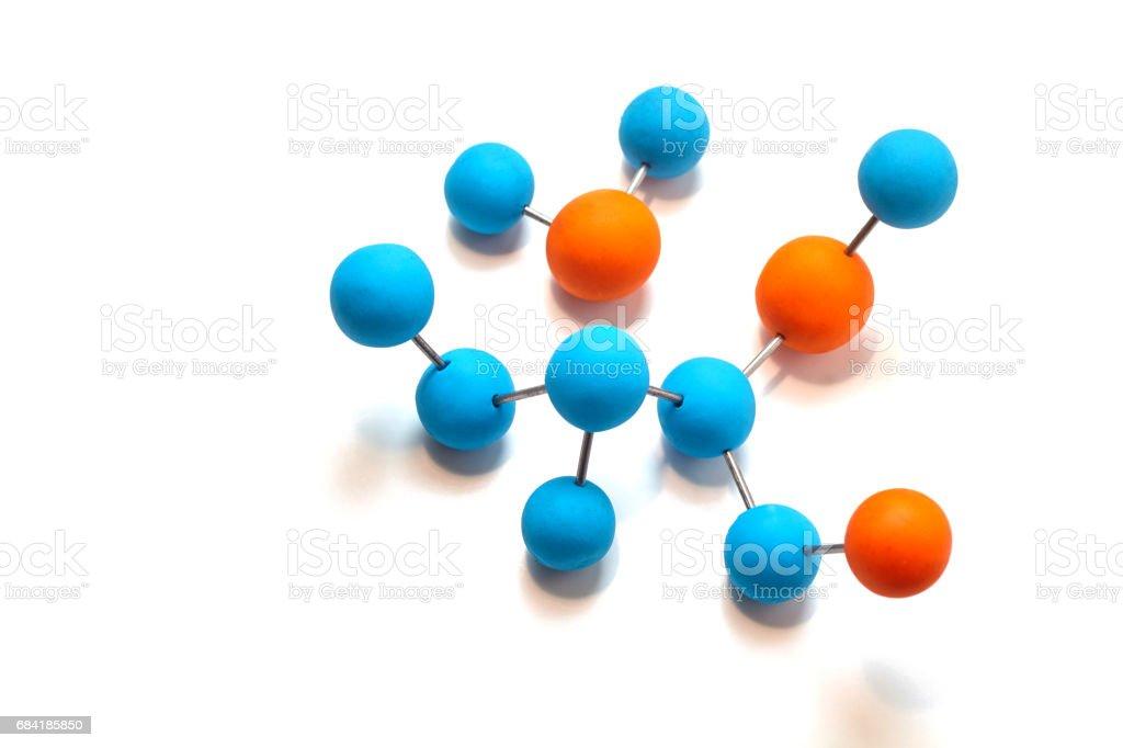 Molecule foto stock royalty-free