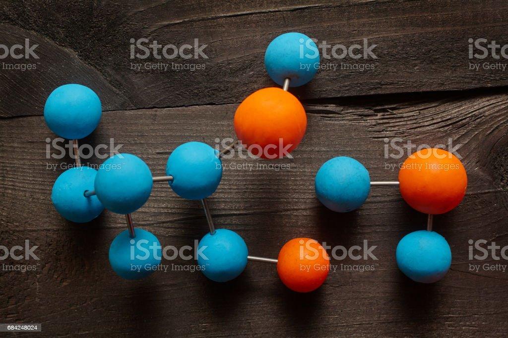 Molecule photo libre de droits