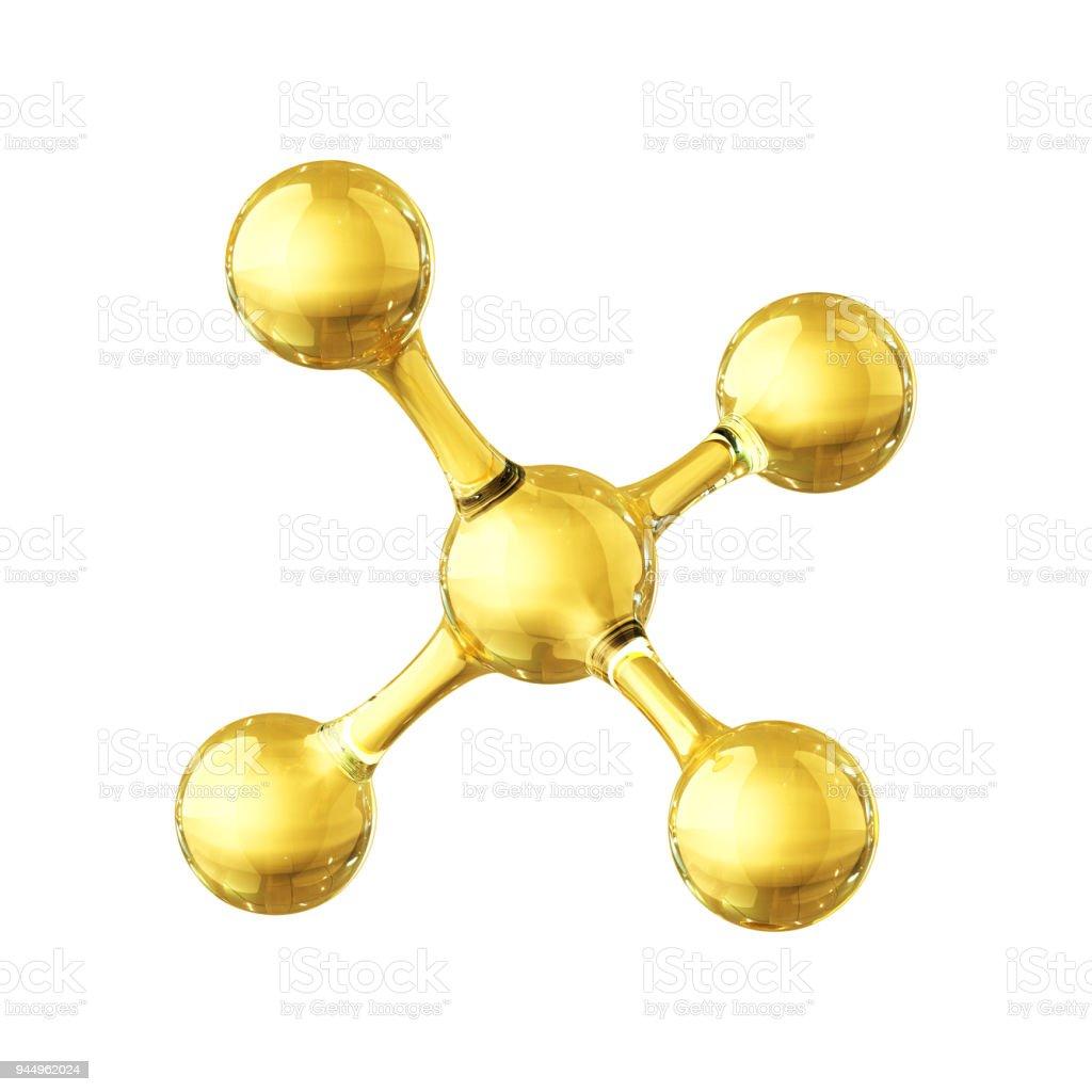 Molécula - foto de stock