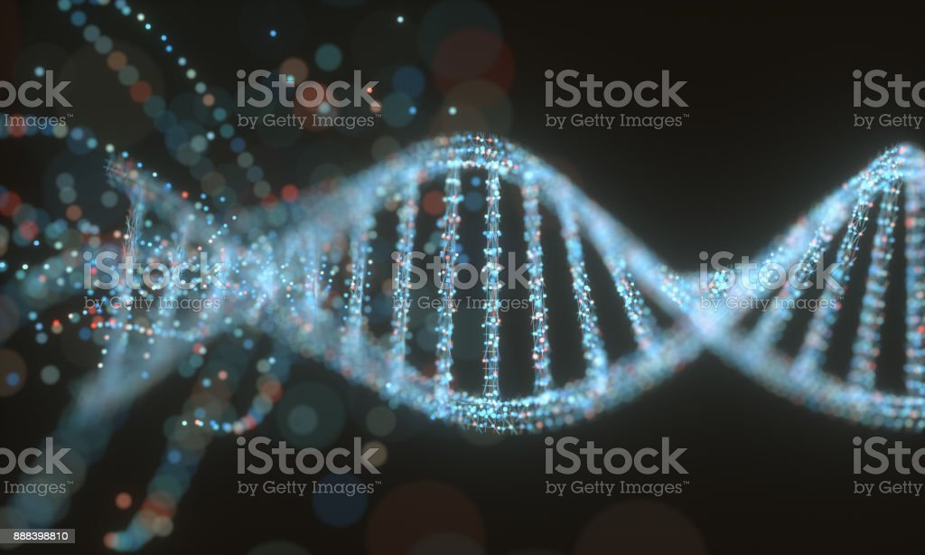 DNA Molecule Structure stock photo