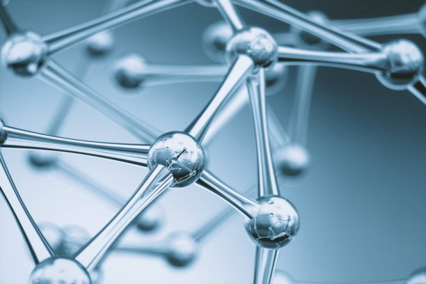 molecules background - molecule stock photos and pictures