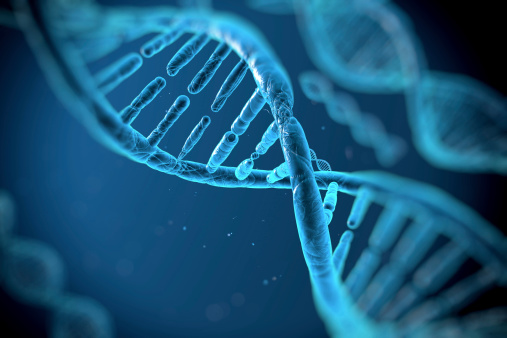 Dna Molecules Stock Photo - Download Image Now